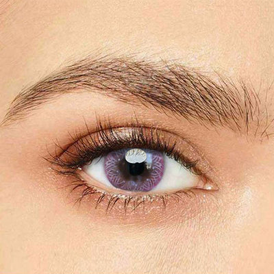 IsFoy® Eye Color Circle Lens Calendula Pink Hazel Colored Contact Lenses V6145