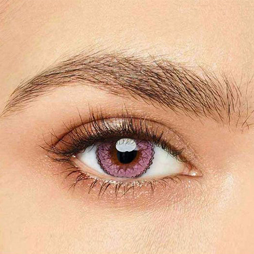 IsFoy® Eye Color Circle Lens Muse Pink Colored Contact Lenses V6149