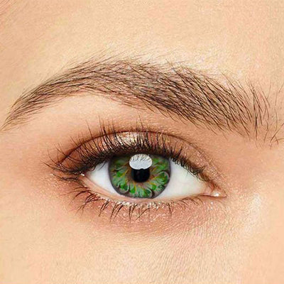 IsFoy® Eye Color Circle Lens Lolly Green Colored Contact Lenses V6154