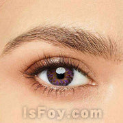 IsFoy® Eye Color Circle Lens Lolly Purple Colored Contact Lenses V6158