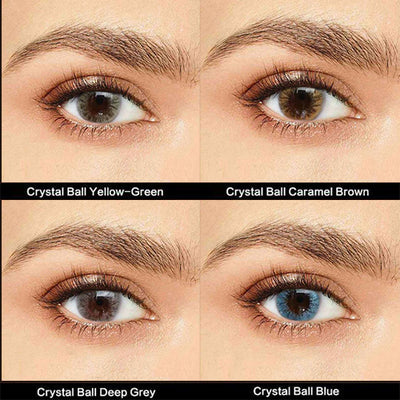 IsFoy® Eye Color Circle Lens Crystal Ball Series Contact Lens Kit V6183