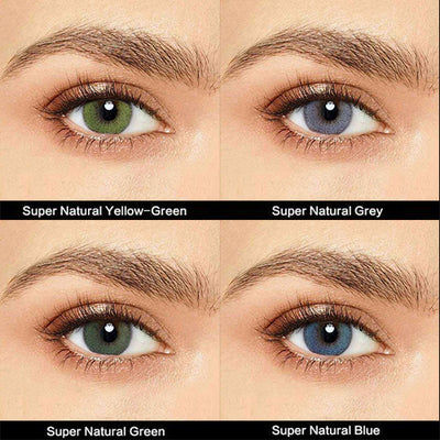 IsFoy® Eye Color Circle Lens Super Natural Series Contact Lens Kit V6185