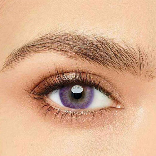 IsFoy® Eye Color Circle Lens Donut Purple Colored Contact Lenses V6203