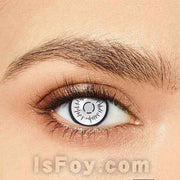 IsFoy® Eye Color Circle Lens Byakugan Boruto Special Effect Colored Contact Lenses V6210