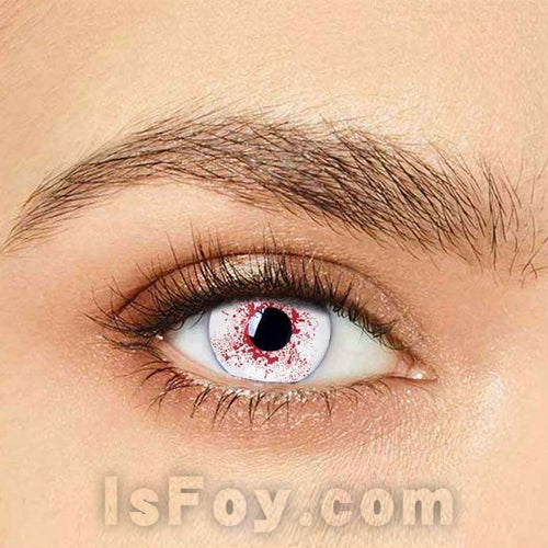 IsFoy® Eye Color Circle Lens Trauma Eye Special Effect Colored Contact Lenses V6226