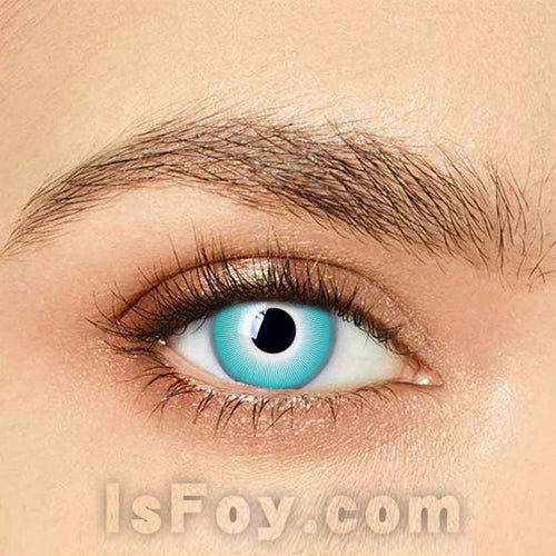 IsFoy® Eye Color Circle Lens White Ice Special Effect Colored Contact Lenses V6228