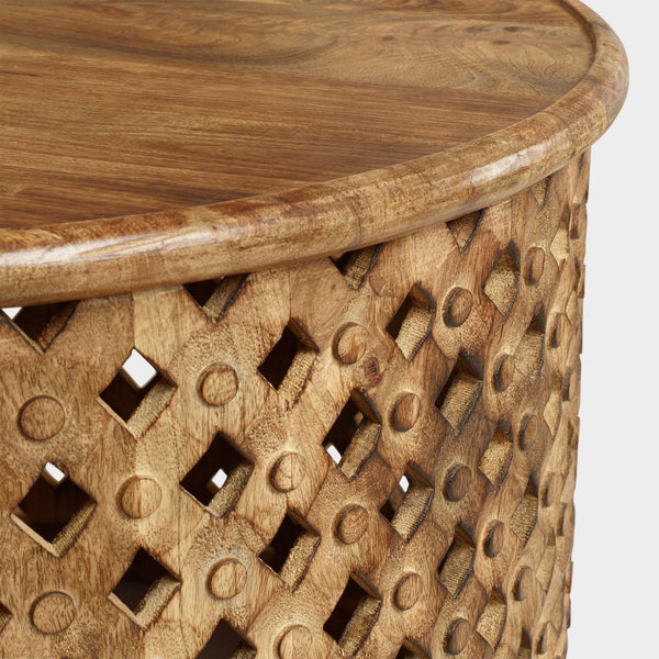 Round Bamileke Table