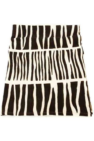 Zebresse Organic Cotton Mudcloth Throw