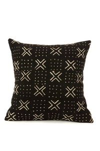 Black And White Mudcloth Pillow
