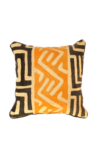 Raffia Decorative Pillow 18""