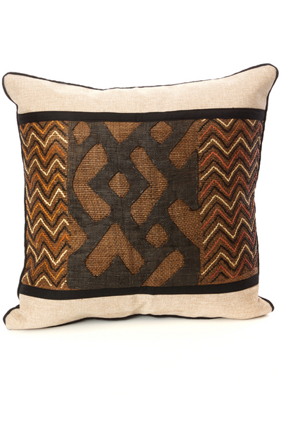 Raffia Decorative Pillow 20""