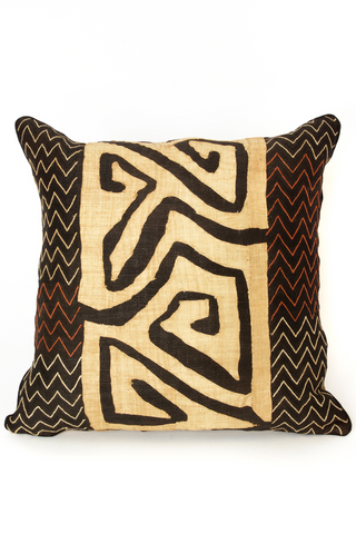 Raffia Decorative Pillow 24""