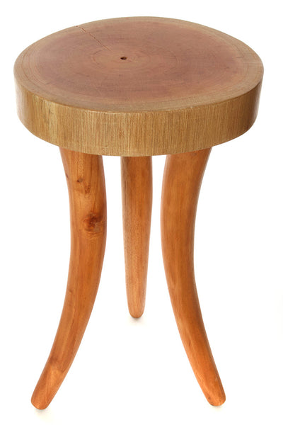 Cedrela Wood Tusk Accent Table