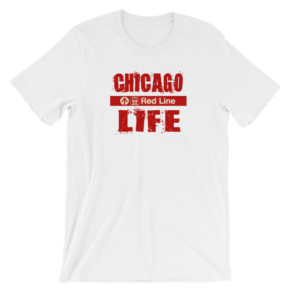 T-Shirt - Chicago Life Red Line