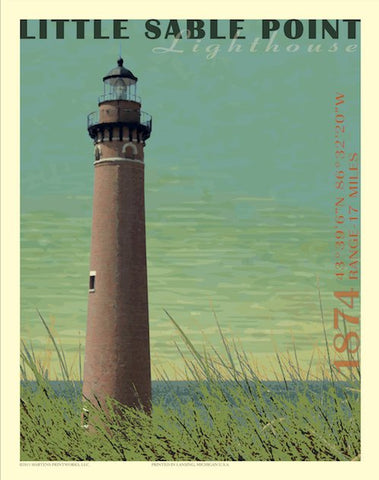 Little Sable Point Lighthouse Print No. [033]