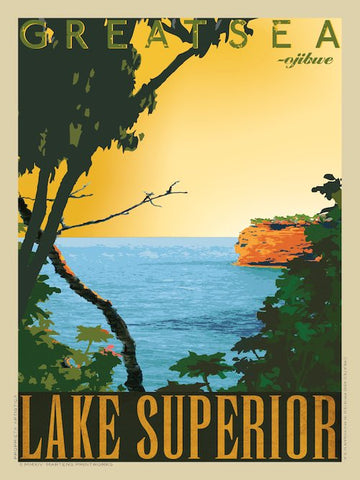 Lake Superior Print No. [035]