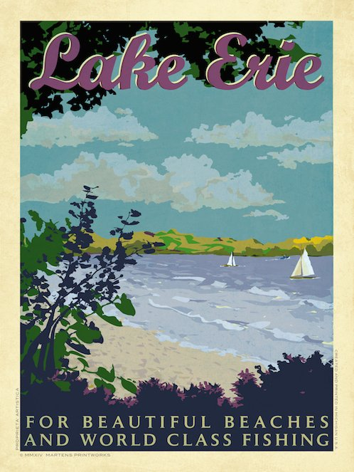 Lake Erie Print No. [043]