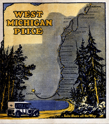 West Michigan Pike Brochure Cover