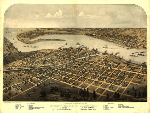 Port Huron, 1867