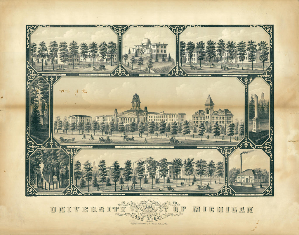 University of Michigan, 1881