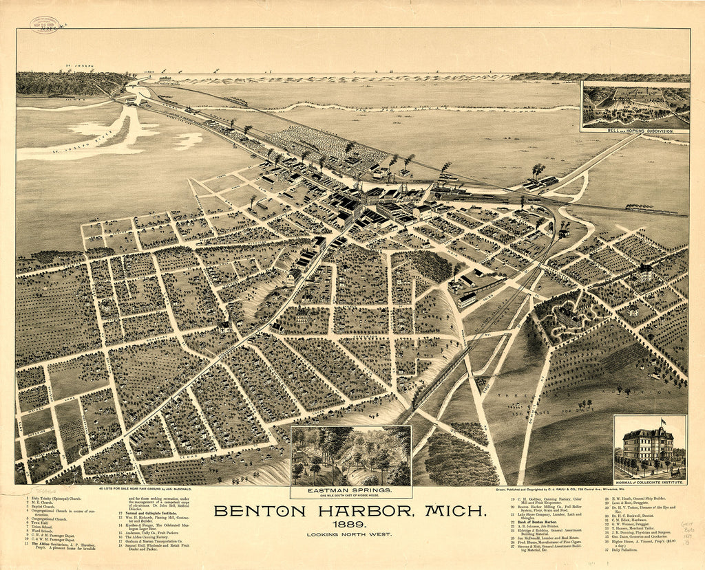 Benton Harbor, 1889