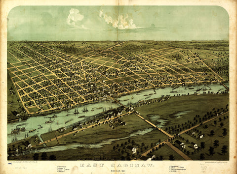 East Saginaw, 1867
