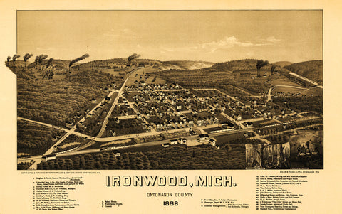 Ironwood, 1886