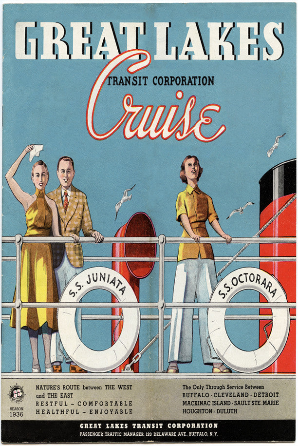 1936 Great Lakes Cruise Magnet