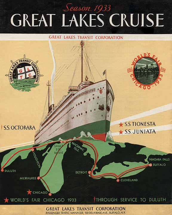 Great Lakes Cruise 1933