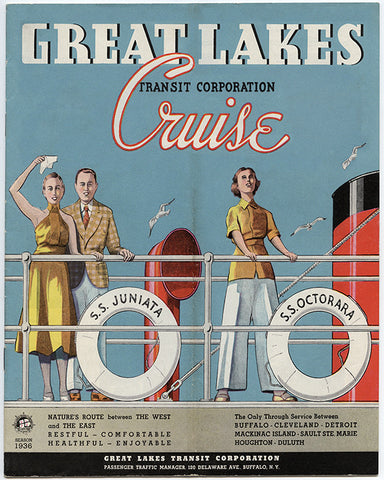 Great Lakes Transit Corporation Cruise, 1936