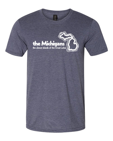 The Michigans: The Almost Islands of the Great Lakes T-Shirt