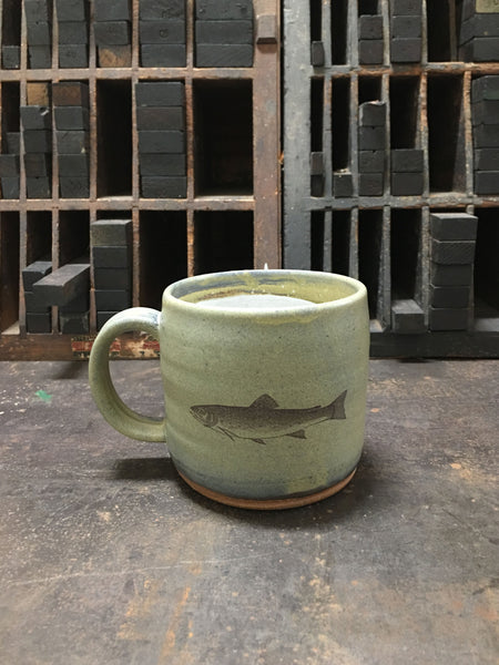 Brook Trout hand-made Mug