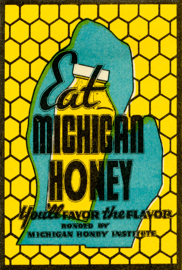 Eat Michigan Honey