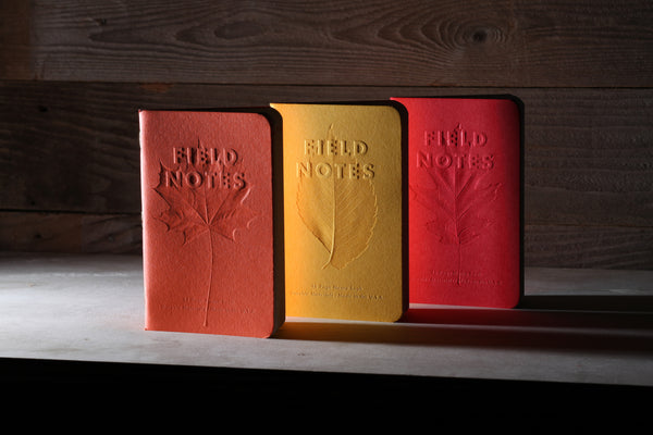 Field Notes Autumn Trilogy Memo Book 3-Pack