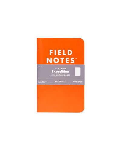 Field Notes Expedition Memo Book 3-Pack