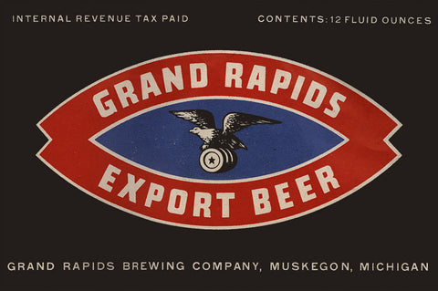 Grand Rapids Export Beer Magnet