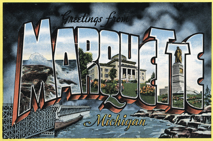 Greetings from Marquette