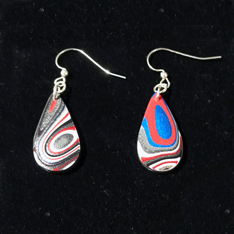 Fordite Earrings
