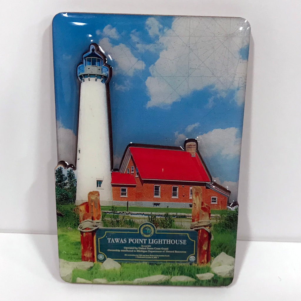 Tawas Point Lighthouse Magnet
