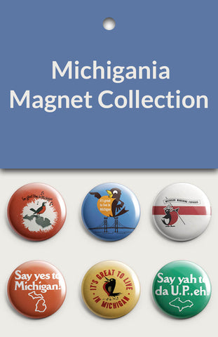 Michigania Magnet Collection