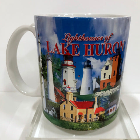 Lighthouses of Lake Huron Mug