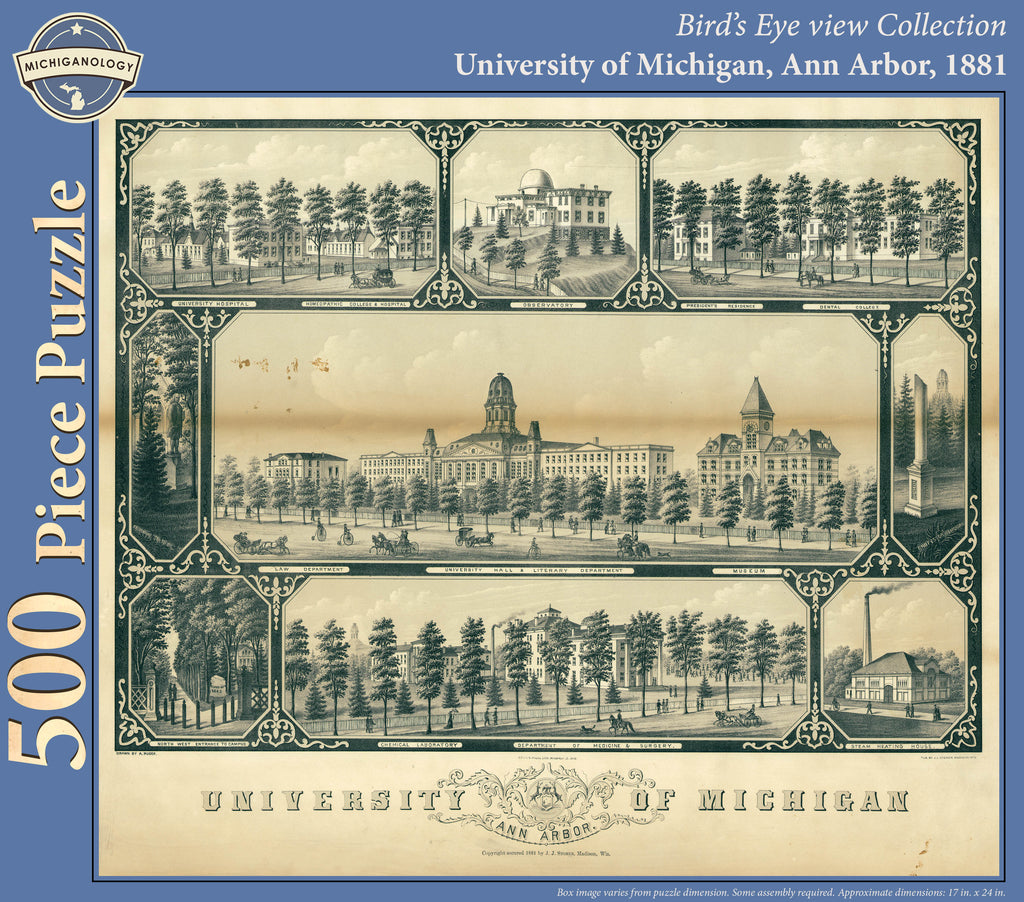 University of Michigan, 1881 Puzzle