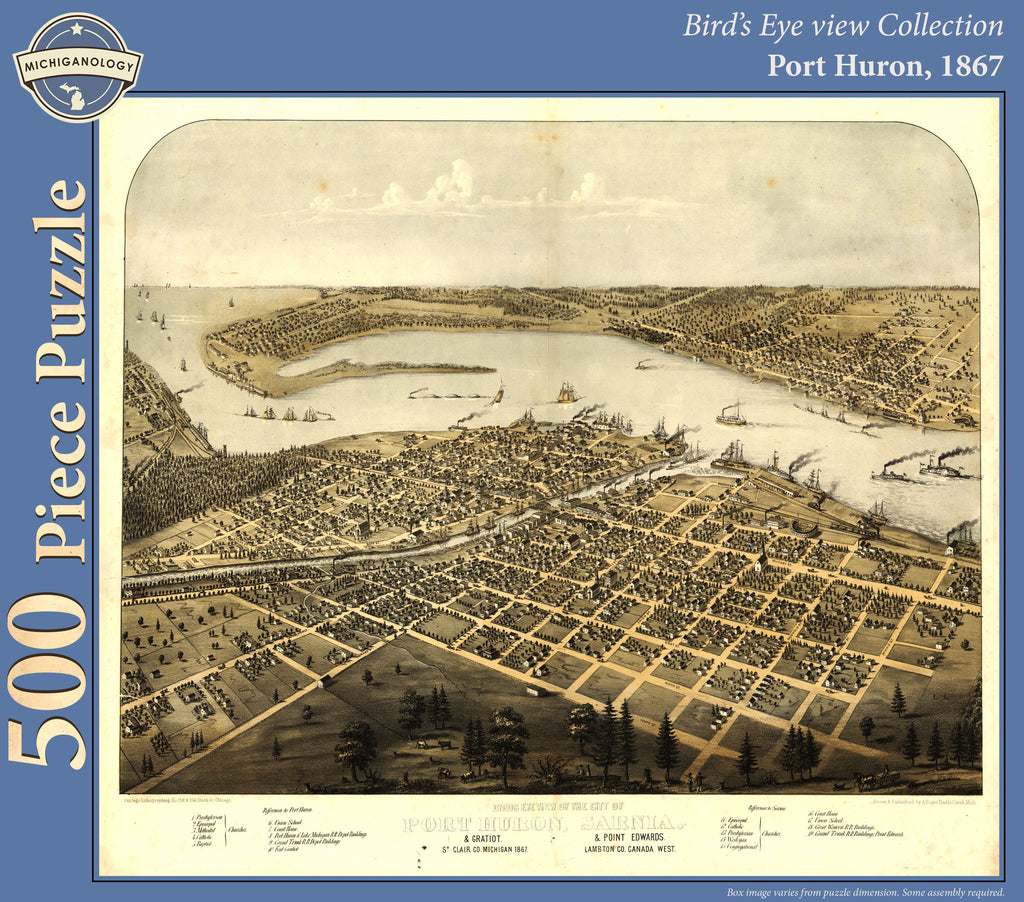 Port Huron, 1867 Puzzle