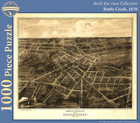 Battle Creek, 1870 Puzzle