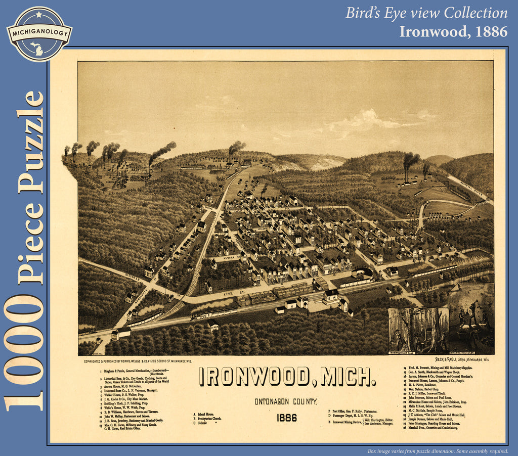 Ironwood, 1886 Puzzle