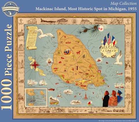 Mackinac Island, Most Historic Spot in Michigan Puzzle