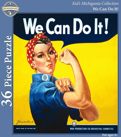 We Can Do It! Kid's Puzzle