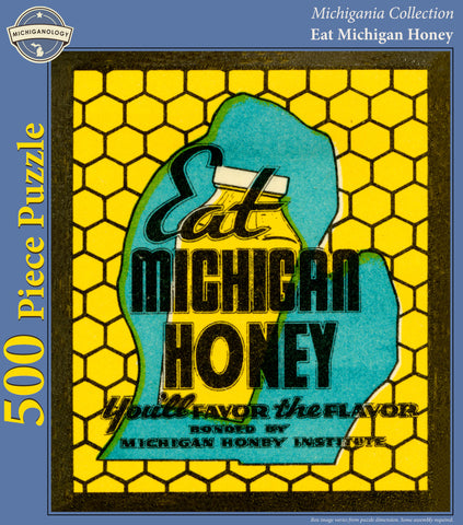 Eat Michigan Honey Puzzle