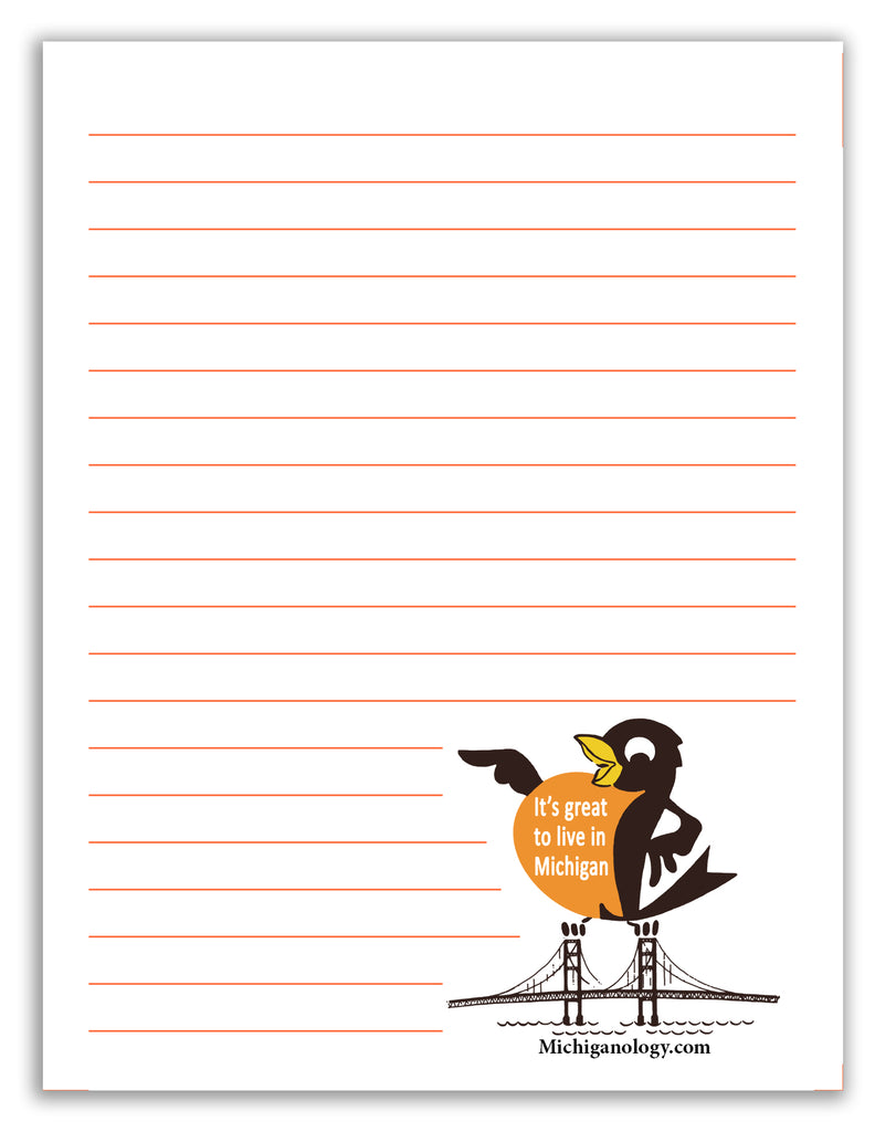 Proud Robin Note Pad