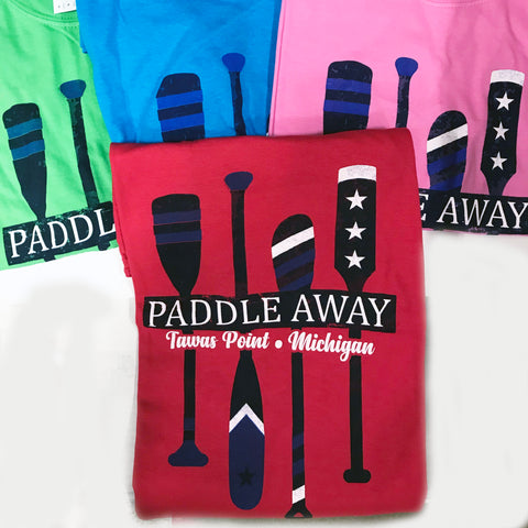 "Tawas Point T-Shirt ""Paddle Away"""